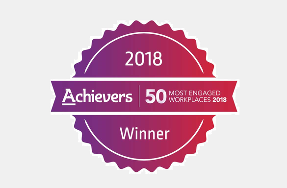 Achievers 50 Most Engaged Workplaces 2018