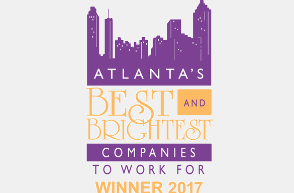 Atlanta's Best and Brightest Company to Work for 2017